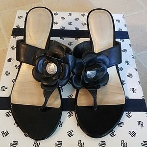 Rockport Black Sandles